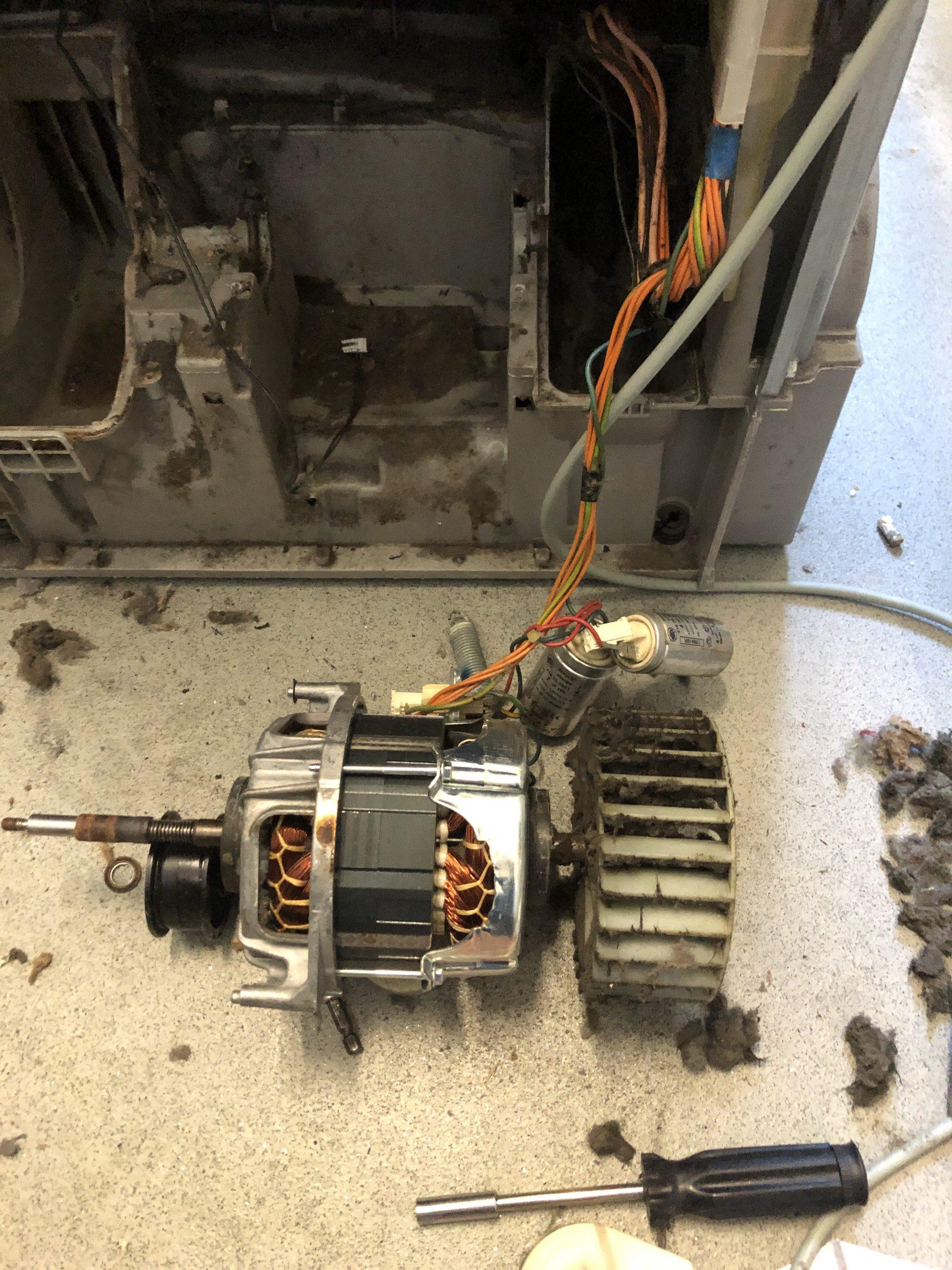 Reparație Uscator electrolix